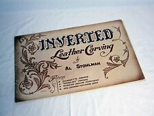 VINTAGE Inverted Leather Carving By Al Stohlman (c)1961 Tandy Leather