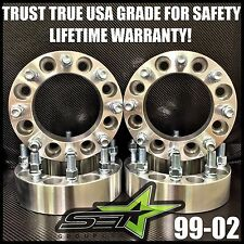 8X170 WHEEL SPACERS 1 INCH (25MM) 99-02 8 LUG ADAPTERS FORD SUPERDUTY EXCURSION