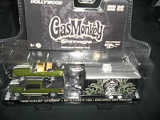 GREENLIGHT 1/64 HOLLYWOOD HITCH & TOW SERIES 1 GAS MONKEY GARAGE SHELBY FORD F