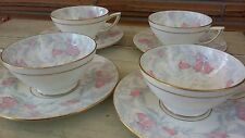 Minton The DEBUTANTE cup and saucer sets (4)