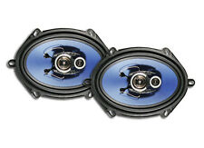 AXIS 3-WAY 250W 5X7 INCH SPEAKERS PAIR FALCON AU BA BF TERRITORY 6X8 AX573 NEW