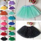 Hot Baby Kids Girls Dancewear Cute Sequins Tutu Full Pettiskirt Princess Skirt w