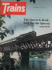 1973 Trains Magazine - From Railcar to Locomotive