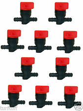 "10 1/4"" INLINE STRAIGHT GAS FUEL SHUT CUT OFF VALVES MADE FOR BRIGGS & STRATTON"