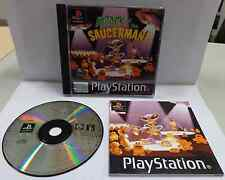 Game Gioco SONY Playstation PSOne PSX PS1 ITALIANO PAL - ATTACK OF THE SAUCERMAN