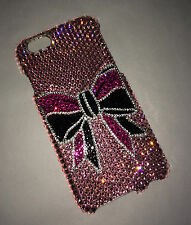 Cheer Bow Crystal BLING Case For IPHONE 6s 6 Plus 5.5 With SWAROVSKI Elemets