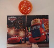 Cars Jigsaw Puzzle Disney Pixar Lightning McQueen & Mack Snowflake Ball package