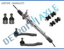 7pc Complete Power Steering Rack and Pinion Suspension Kit for Honda Civic
