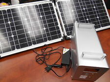 Yake Smart Solar Generator Kit D50 With Fold Up Panels Off-Grid Power