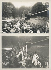 c.1900's PHOTO JAPAN - SCENES FROM FESTIVAL AT NIKKO AND YUMOTO SULPHUR BATHS