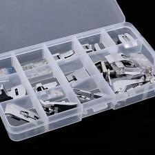 Sewing machine presser walking feet foot kit set of 15 pc brother Janome Singer