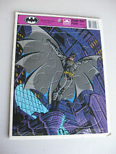 "Vintage 1992 Batman Returns Golden Frame Tray Puzzle 8 1/4""x11"" Made In The USA!"