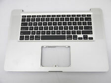 "USED Top Case Topcase US Keyboard for MacBook Pro 15"" A1286 2010 C/W 2011 2012"
