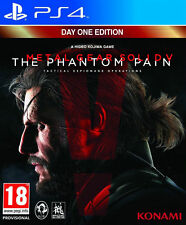 Metal Gear Solid V: The Phantom Pain (Sony PlayStation 4, 2015) Barato Libre postag
