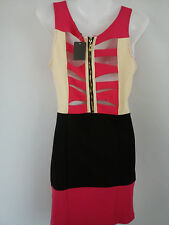 NICE NEW BACKLESS WOMENS LADIES DRESS SIZE M/L SIZE 8/10 (0.2)