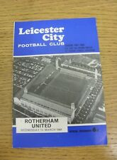 13/03/1968 Leicester City v Rotherham United [FA Cup] (Rusty Staple).  We are pl