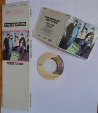 THE BEATLES - CD SINGLE(RARE)  TICKET TO RIDE +1