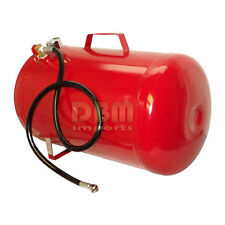 Portable Horizontal 9 Gallon Air Compressor Storage Carry Tank Pneumatic 125 PSI