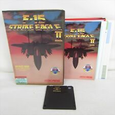 PC Game F-15 STRIKE EAGLE II 2 PC-9801 3.5 2HD Import Japan Video Game 2425 pc98