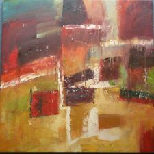 LARGE RETRO 1977 OIL on CANVAS ABSTRACT STUDY - ST IVES SCHOOL - No Reserve