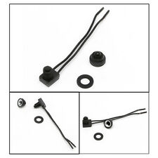 """Hot 12V Waterproof Push-Button On-Off Switch With 4"""" Leads Motorcycle Car Boat"""