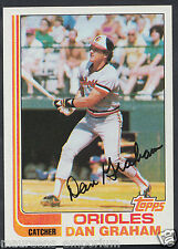 Topps 1982 Baseball Card - No 37 - Dan Graham - Orioles