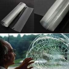 1pc Safety & Security Window Film Clear Glass Protection Anti Shatter 50cm x 1m