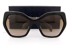 Brand New Prada Sunglasses PR 16RS 1AB 1X1 Black/Brown Gradient For Women