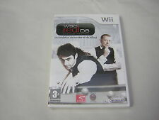NINTENDO WII  WSC REAL 08 Simulation Snooker Billard      rare