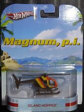 2013 HOTWHEELS - Retro entertainment E - MAGNUM Island Hopper Helicopter