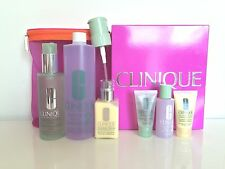 CLINIQUE 3-step Skin Care Set Limited Edition for Dry Combination Skin Unisex
