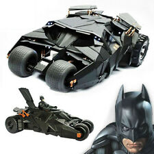 BATMAN The Dark Knight With Figure Toys BATMOBILE Doll Tumbler Vehecle Black