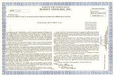 Dupont Ventures, Inc.   du Pont de Nemours 1988 warrant certificate