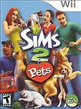 THE SIMS 2 PETS WII! DOG, CAT, BREED, TRAIN, TEACH, FUN FAMILY FUN GAME NIGHT!