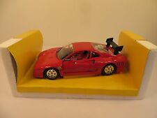 FERRARI GTO EVOLUZIONE JOUEF EVOLUTION 1:18 1987 RED RARE #3001 DIECAST BOX CAR