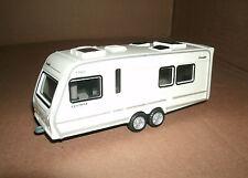 1/43 Camper Trailer Plastic Model - Elddis Crusader Camping RV Caravan Trailer