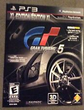 Gran Turismo 5 XL Edition (PlayStation 3, 2012) - NOT FOR RESALE - NEW