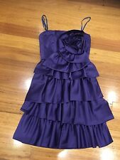 BCBG Maxazria dress size 2 US 8 Au Formal Race Parties Very Good Condition