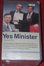 YES MINISTER ~ Series 1 & 2 ~  VHS TAPES ~ BRAND NEW STILL SEALED