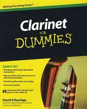 Clarinet For DUMMIES Learn to Play Beginner Easy LESSON TUTOR Music Book & CD