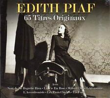 EDITH PIAF - 65 TITRES ORIGINAUX (NEW SEALED 3CD)