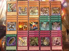 Yugioh Tournament Ready to Play Budget Infernoid Deck 40 Card Onuncu Patrulea NM