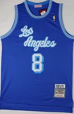 Brand New NBA Kobe Bryant 1960 Throwback L.A Lakers  Blue Jersey,Stitched Size L