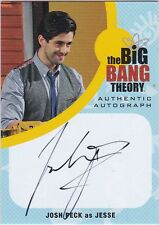 THE BIG BANG THEORY SEASONS  6 & 7 JPE1 JOSH PECK AS JESSE AUTOGRAPH