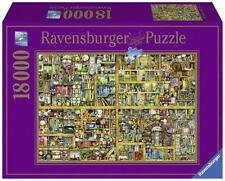 RAVENSBURGER JIGSAW PUZZLE MAGICAL BOOKCASE XXL COLIN THOMPSON 18000 PCS #17825