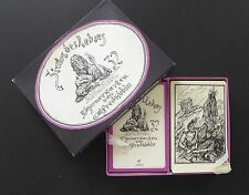 Vintage Zirkus Des Lebens Fortune Telling Oracle Cards Deck Kubin Non Tarot 1977