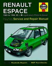 Renault Espace 1985-1996 Haynes Workshop Manual Service Repair Petrol Diesel