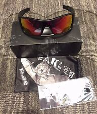 Oakley OO9101-38 Batwolf Matte Black Ink, Ruby Iridium Lens Sunglasses
