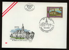 Austria 1988 800th Anniv Of Feldbach FDC #366