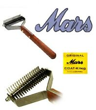 MARS COAT KING STRIPPER DOG Undercoat Hair Coat DOUBLE WIDE STRIPPING Tool Rake